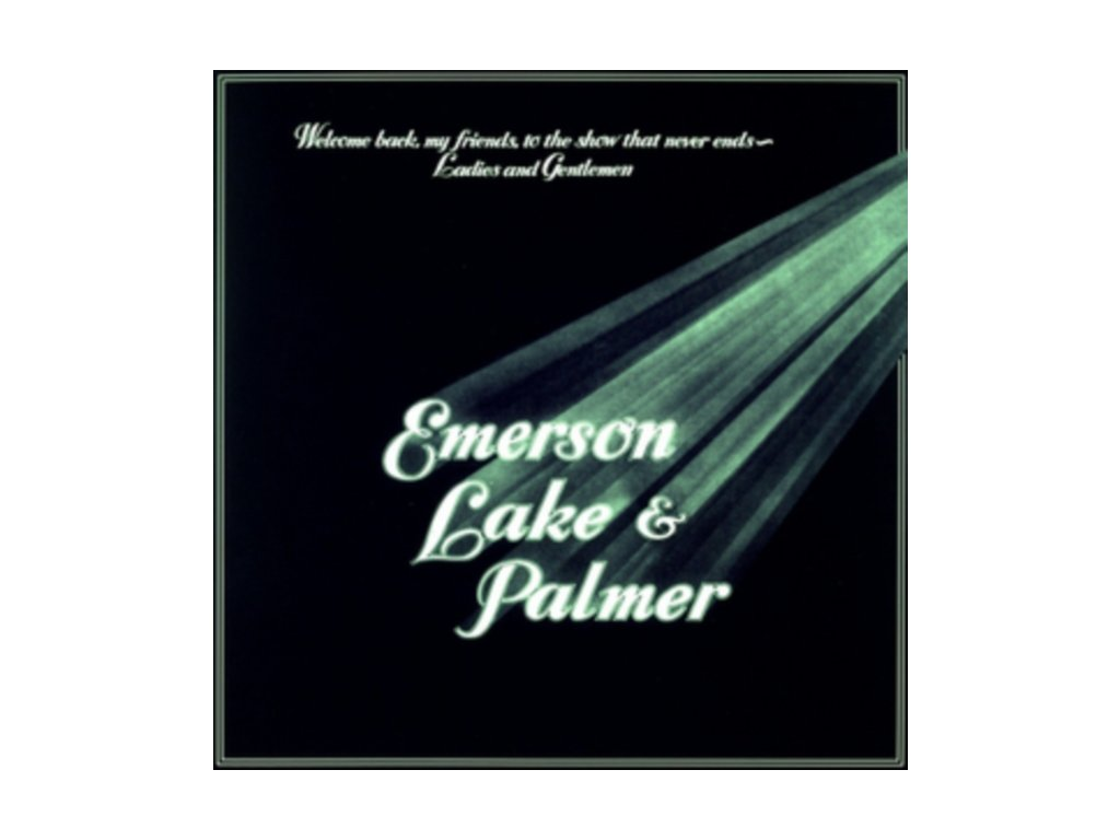 EMERSON LAKE & PALMER - Welcome Back My Friends To The Show (LP)