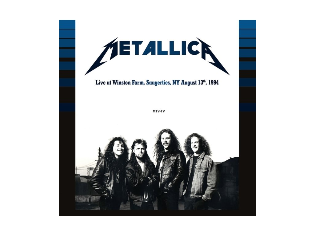 METALLICA - Live At Winston Farm Saugerties Ny August 13 1994 (Orange Vinyl) (LP)