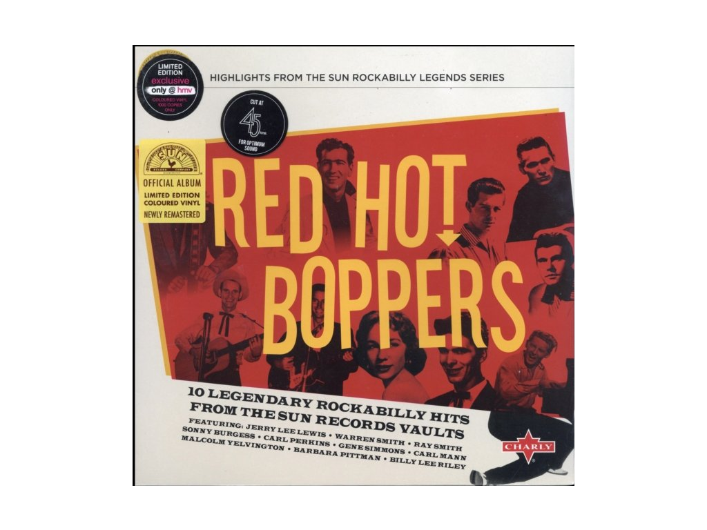 VARIOUS ARTISTS - Red Hot Boppers (LP)