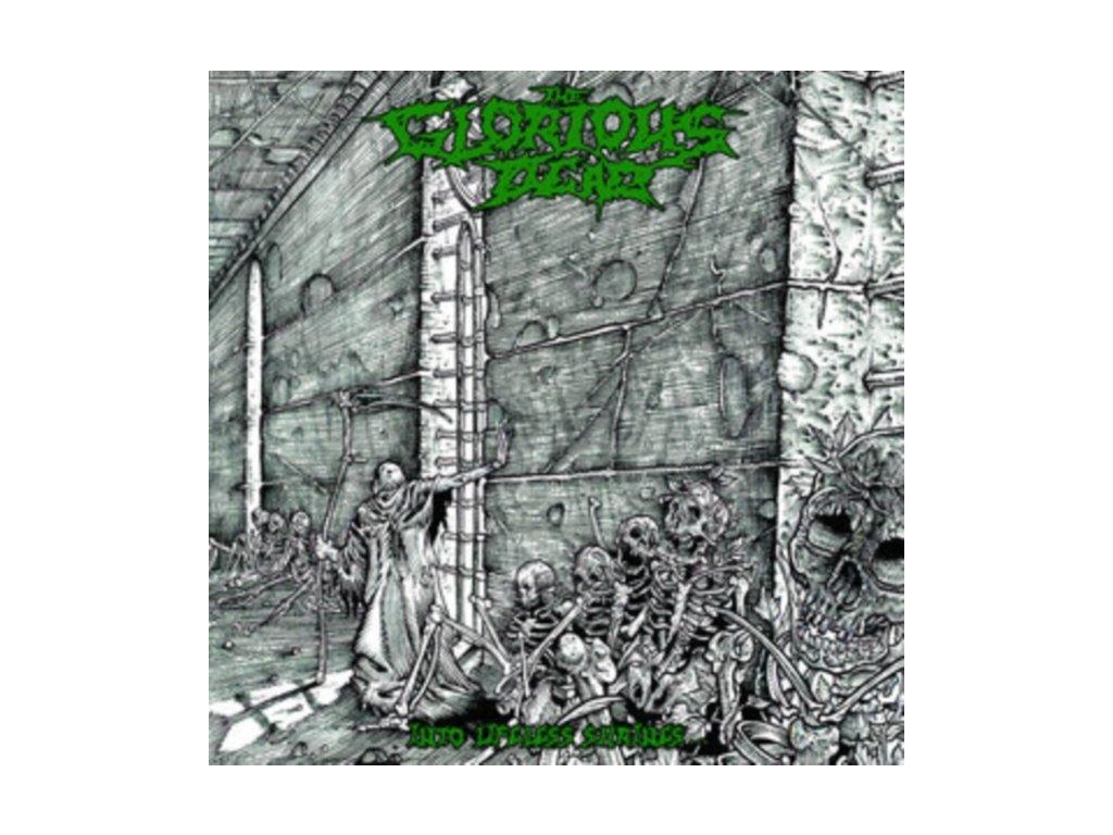 GLORIOUS DEAD - Into Lifeless Shrines (White/Grey/Green/Black Splatter Vinyl) (LP)
