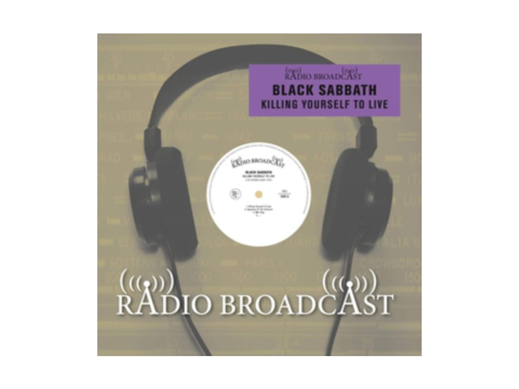 BLACK SABBATH - Killing Yourself To Live (Live In New Jersey 1975) (LP)