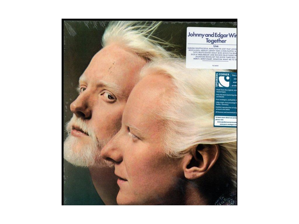 JOHNNY & EDGAR WINTER - Together (LP)