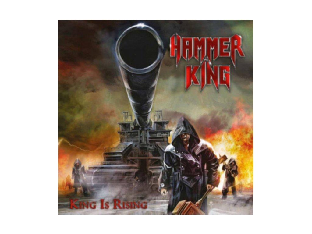 HAMMER KING - King Is Rising (LP)