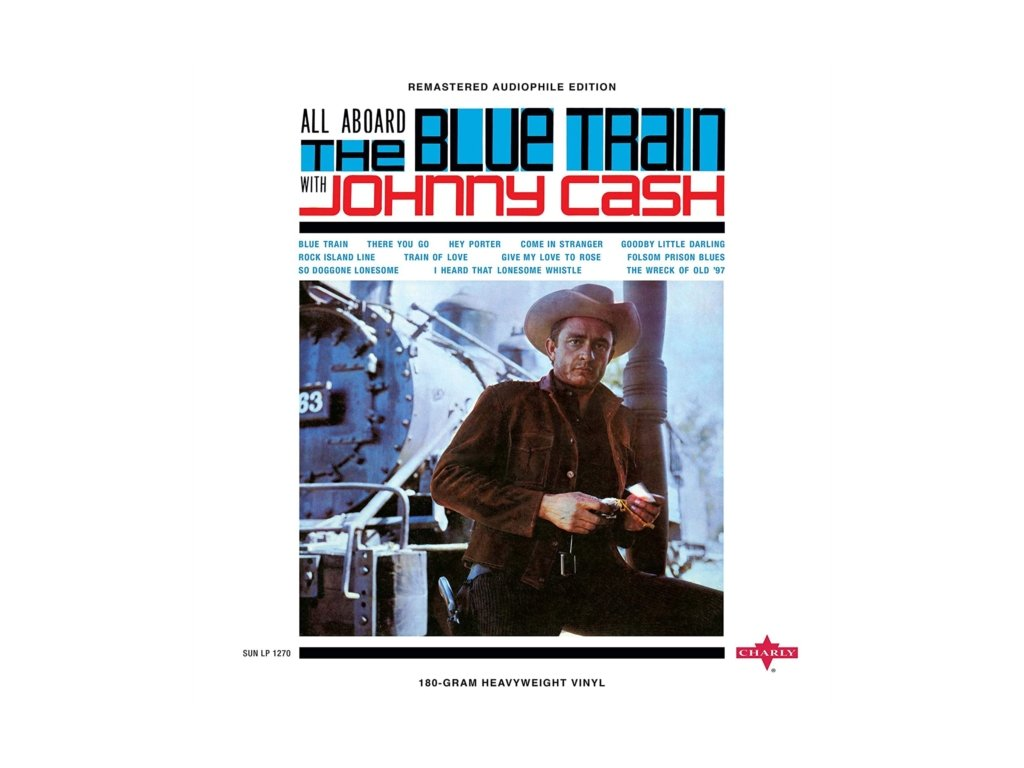 JOHNNY CASH - All Aboard The Blue Train (LP)