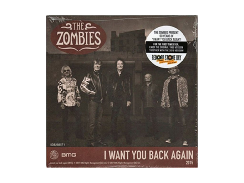 "ZOMBIES - I Want You Back Again (7"" Vinyl)"