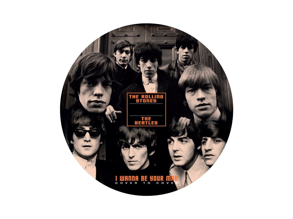 BEATLES / ROLLING STONES - I Wanna Be Your Man (SP)