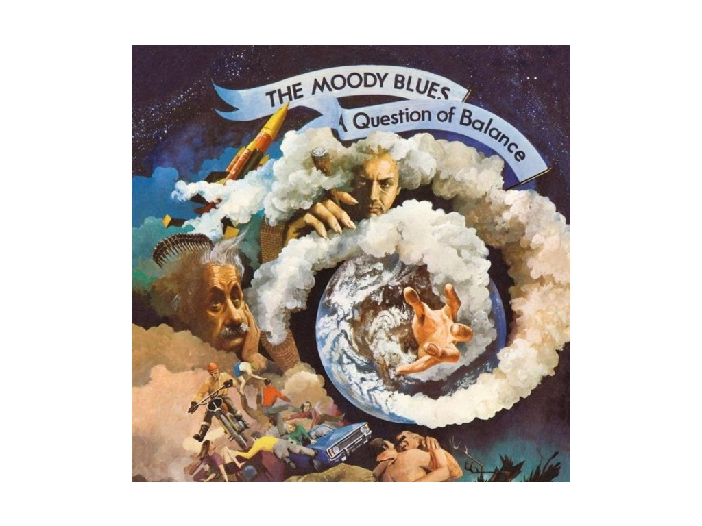 MOODY BLUES - A Question Of Balance (LP)