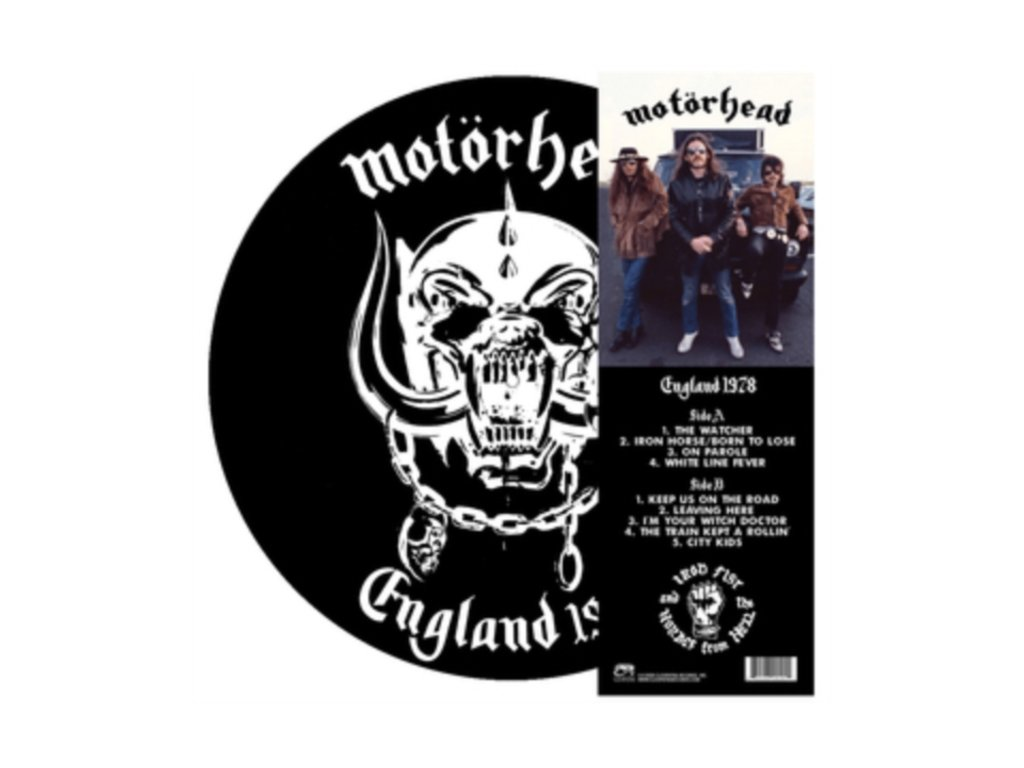 MOTORHEAD - England 1978 (Picture Disc) (LP)
