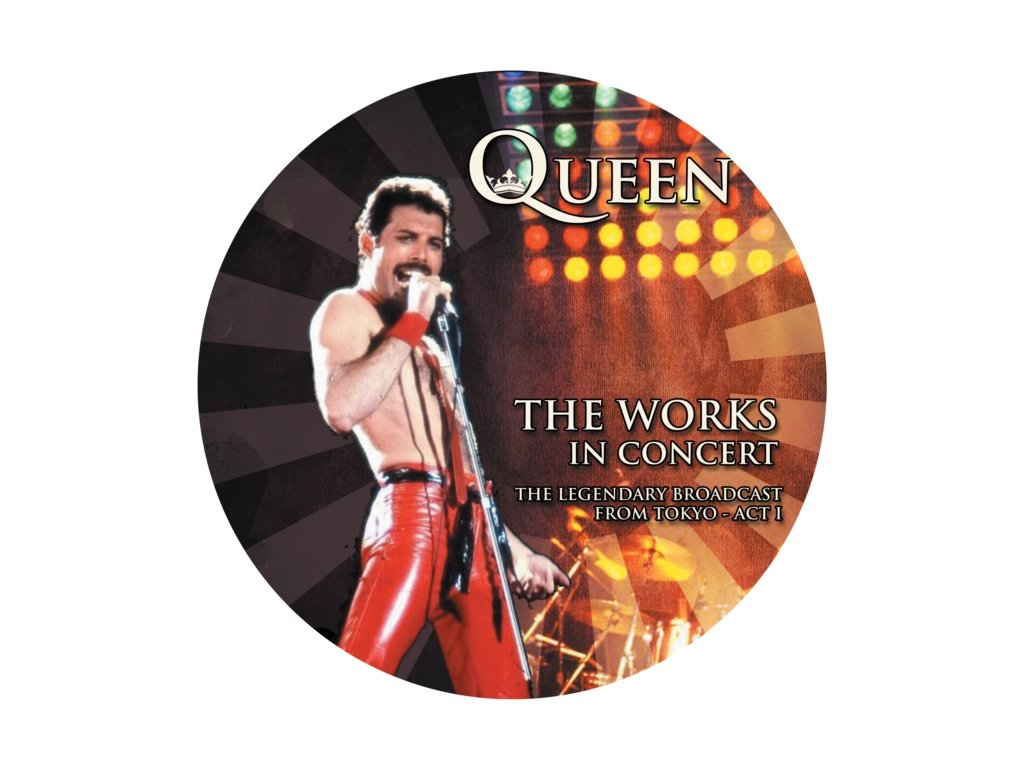 QUEEN - The Works In Concert (Picture Disc) (LP)