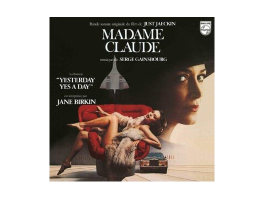 SERGE GAINSBOURG - Madame Claude - Original Soundtrack (LP)