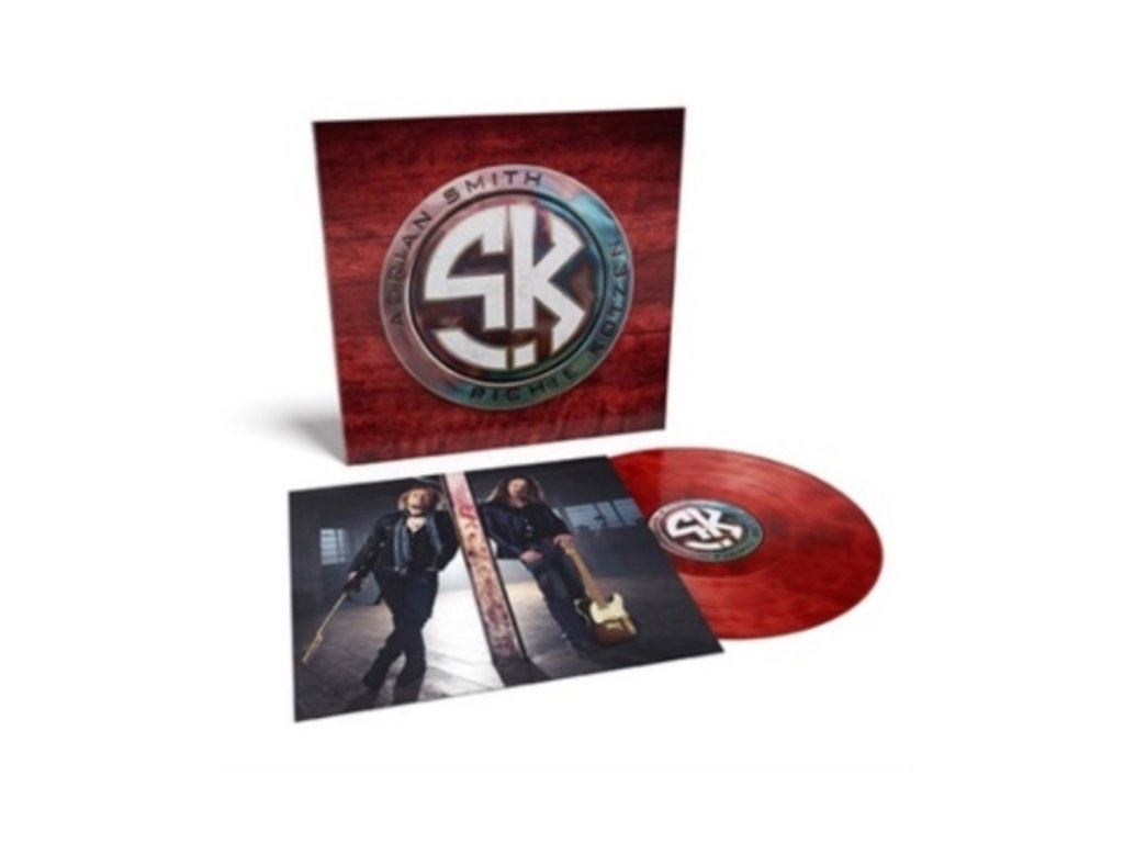 SMITH/KOTZEN (ADRIAN SMITH / RICHIE KOTZEN) - Smith/Kotzen (Red/Black Smoke Vinyl) (LP)