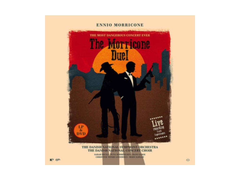 ENNIO MORRICONE - The Morricone Duel - The Most Dangerous Concert Ever (LP + DVD)