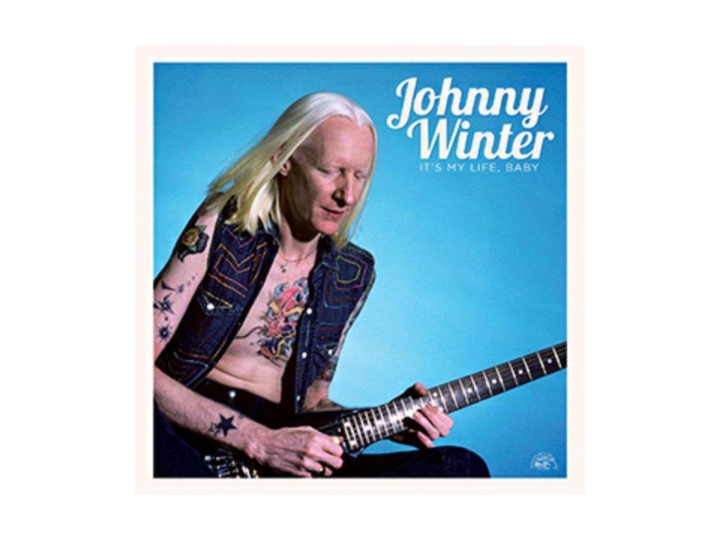 JOHNNY WINTER - ItS My Life Baby (LP)