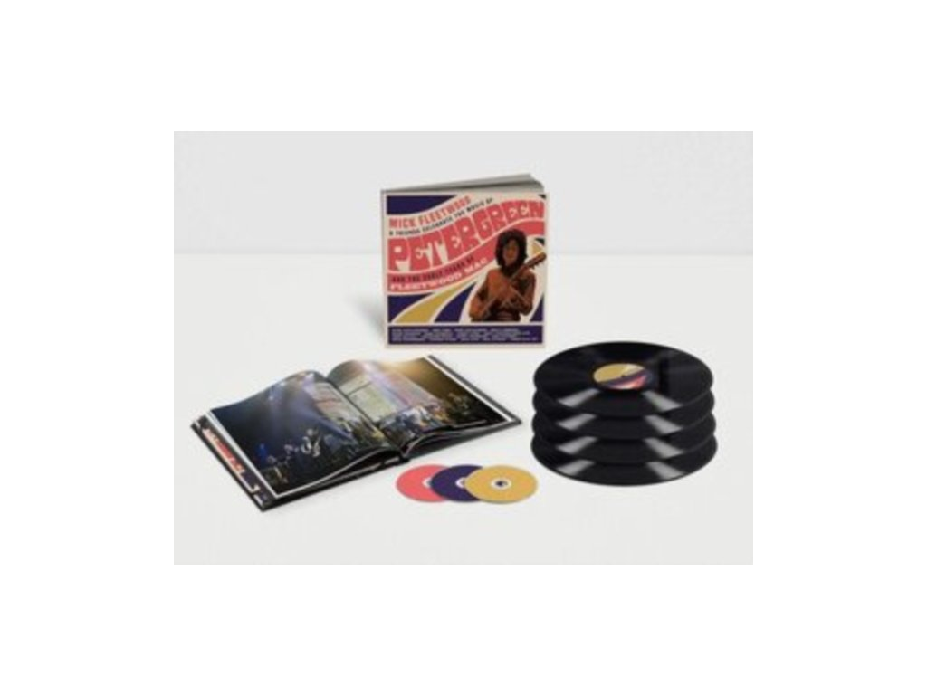 MICK FLEETWOOD AND FRIENDS - Celebrate The Music Of Peter Green And The Early Years Of Fleetwood Mac (LP Box Set)