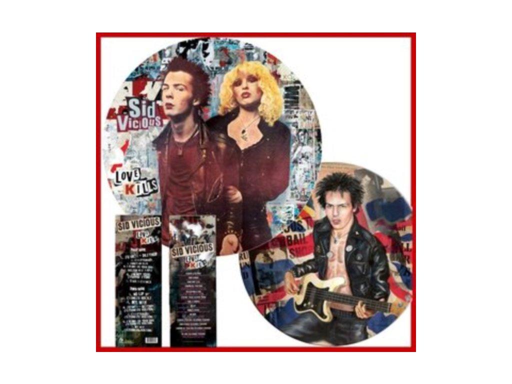 SID VICIOUS - Love Kills (Picture Disc) (LP)