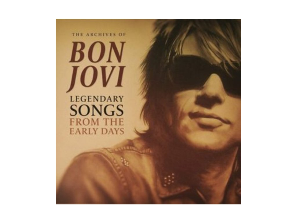 BON JOVI - The Archives Of / Legendary Songs From The Early Days (LP)