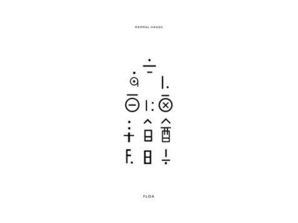 MAMMAL HANDS - Floa (Limited Clear Vinyl) (LP)