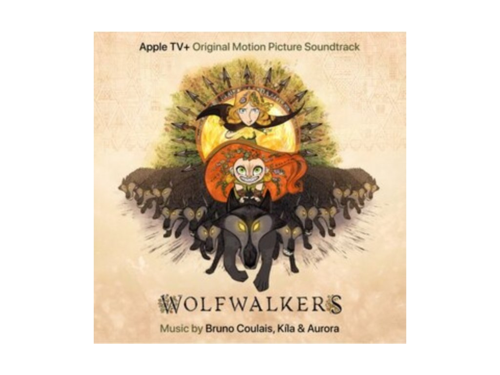 BRUNO COULAIS. KILA & AURORA - Wolfwalkers - Original Soundtrack (Orange Vinyl) (LP)