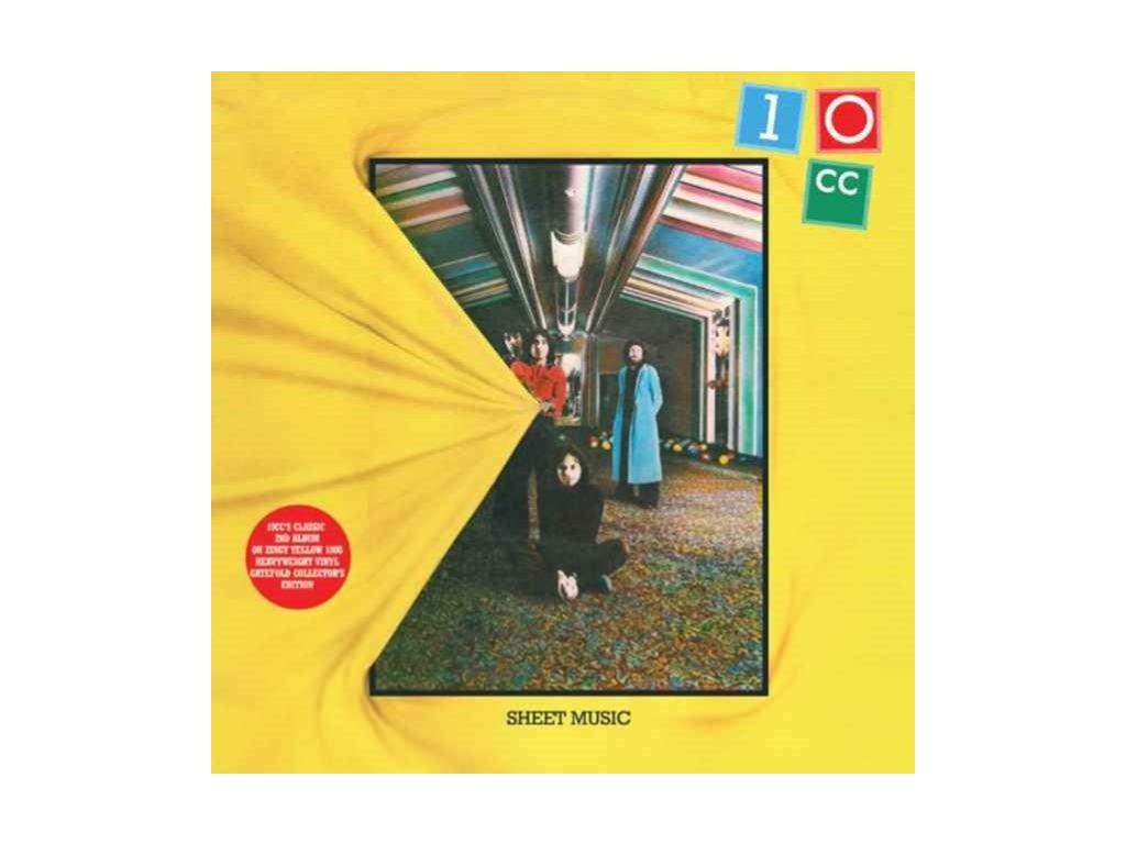 10CC - Sheet Music (Yellow Vinyl) (LP)