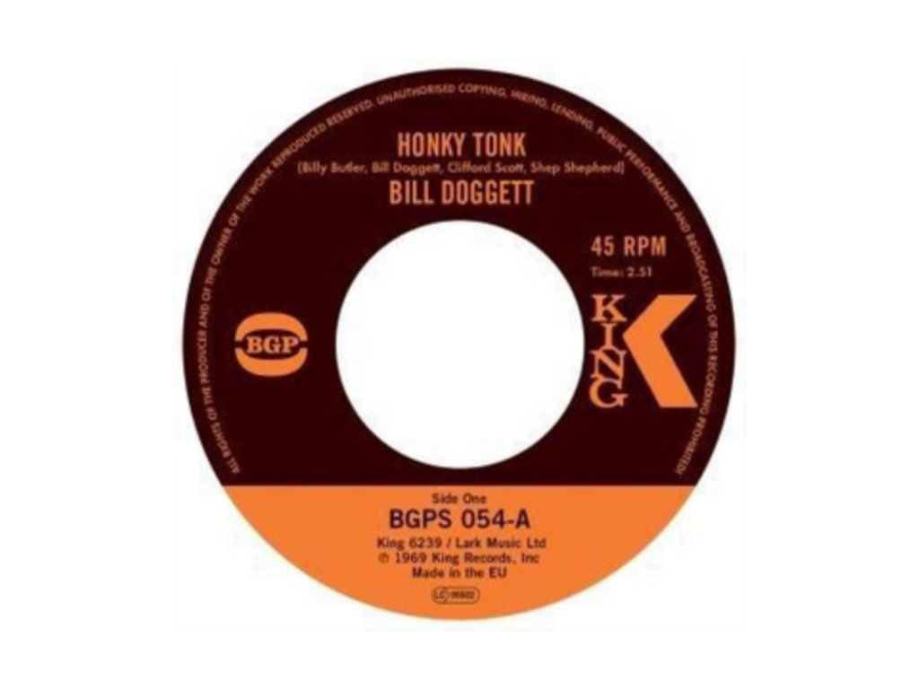 "BILL DOGGETT - Honky Tonk (7"" Vinyl)"