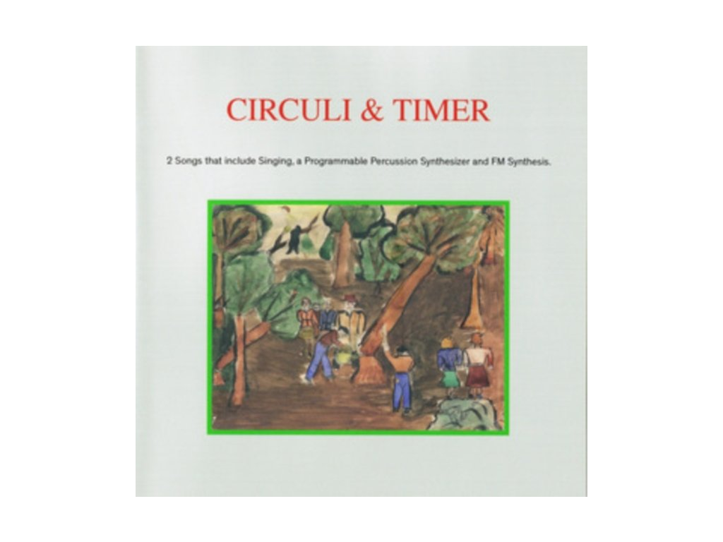 "TRII GROUP & HIPOLITO - Circuli & Timer (7"" Vinyl)"