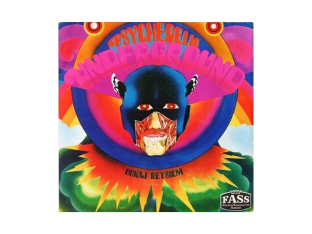 BOKAJ RETSIEM - Psychedelic Underground (Cyan Blue Vinyl) (LP)