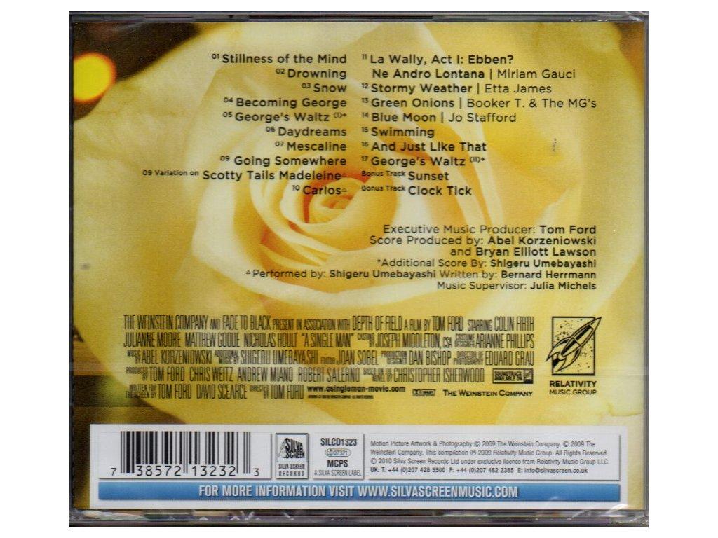 Single list soundtrack A man