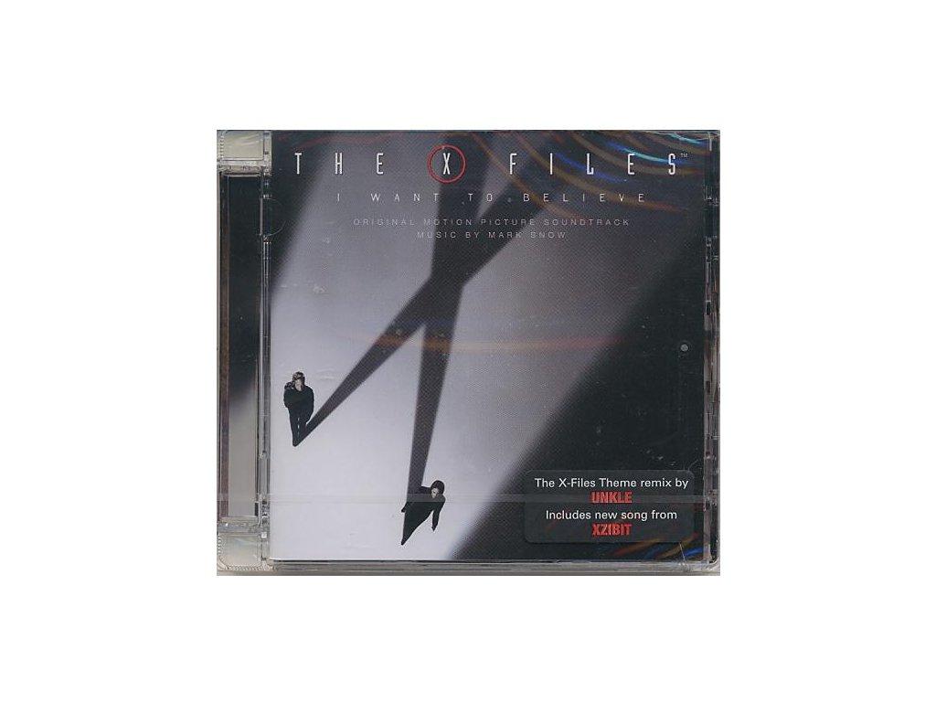 Akta X: Chci uvěřit (soundtrack - CD) The X-Files: I Want to Believe