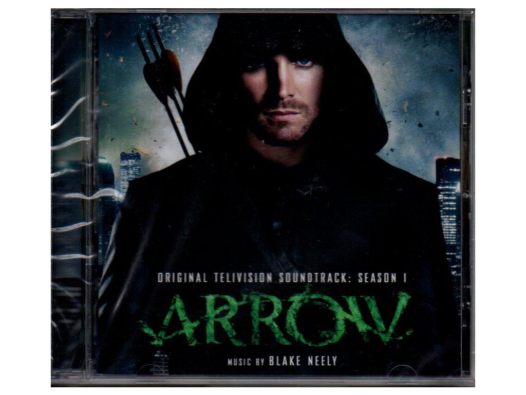 arrow season 1 soundtrack cd blake neely