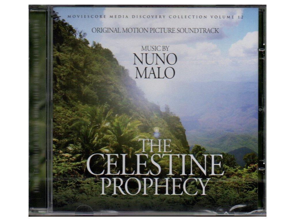 celestine prophecy soundtrack cd nuno malo