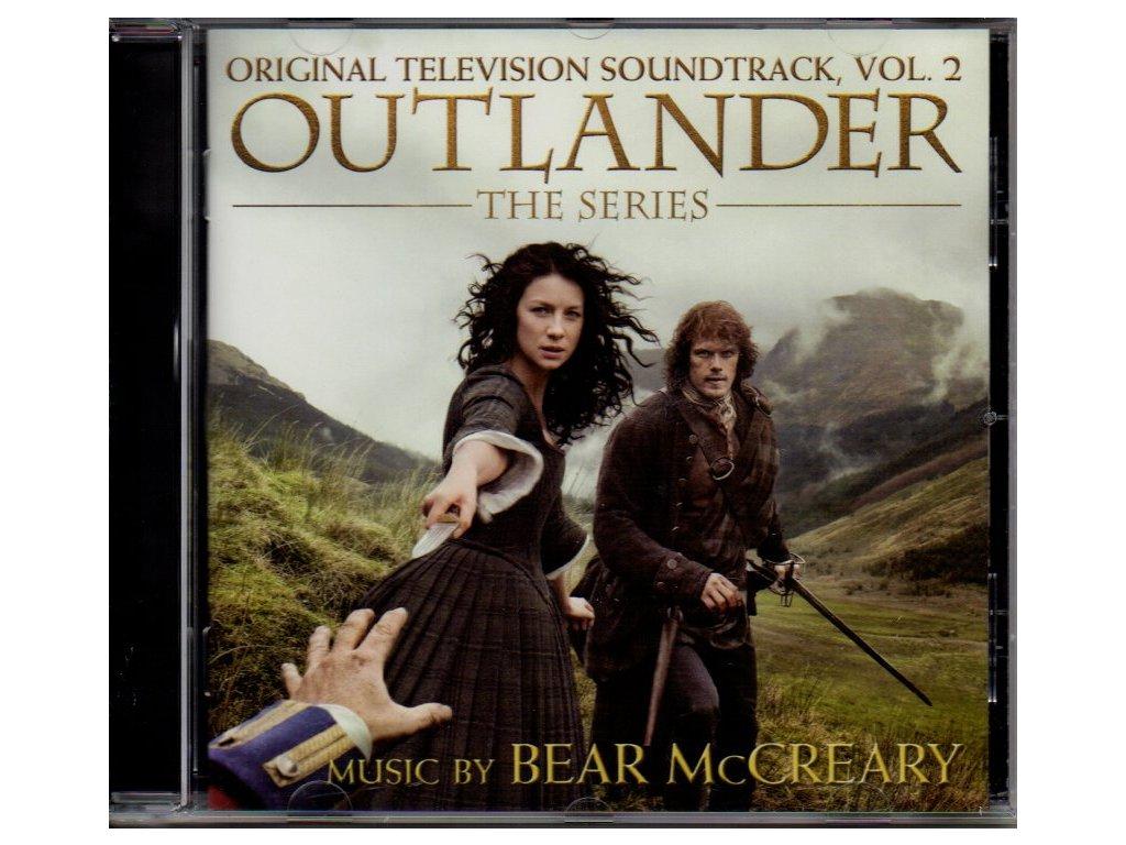 outlander the series soundtrack vol. 2 cd bear mccreary