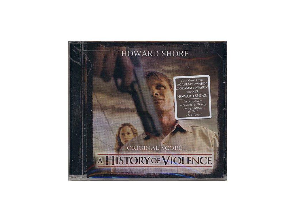 Dějiny násilí (soundtrack - CD) A History of Violence