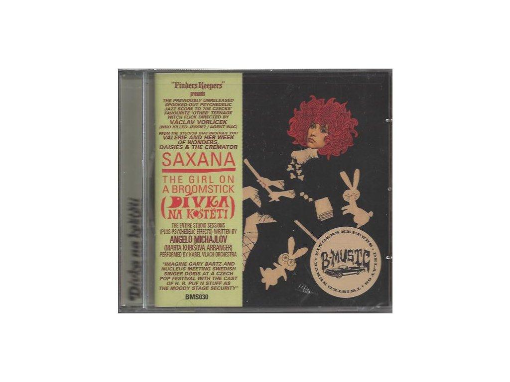 Dívka na koštěti (soundtrack - CD) Saxana: The Girl on a Broomstick