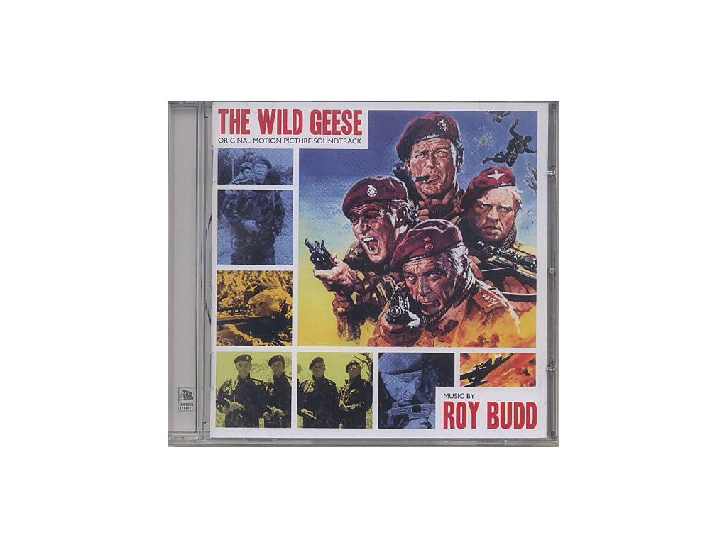 Divoké husy (soundtrack - CD) The Wild Geese