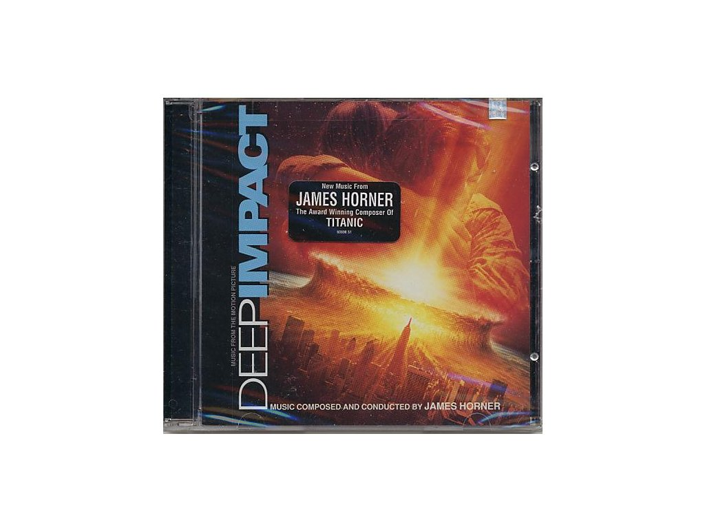 Drtivý dopad (soundtrack - CD) Deep Impact