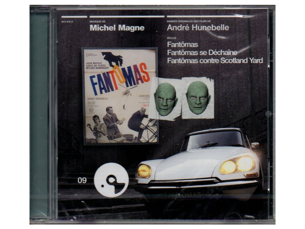 fantomas soundtrack cd michel magne