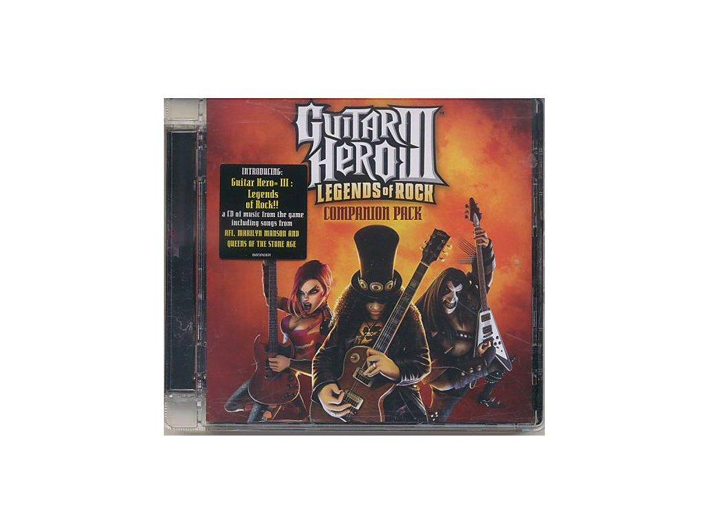 Guitar Hero III: Legends of Rock Companion Pack (soundtrack - CD)