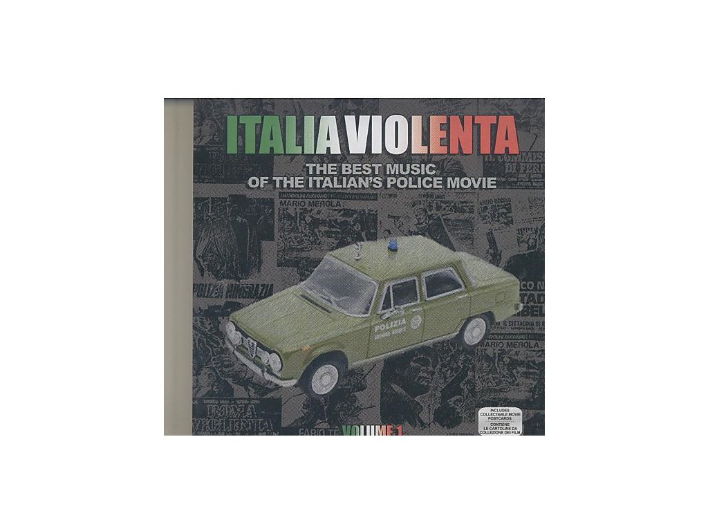 Italia Violenta: The Best Music of the Italians Police Movie vol. 1 (CD)