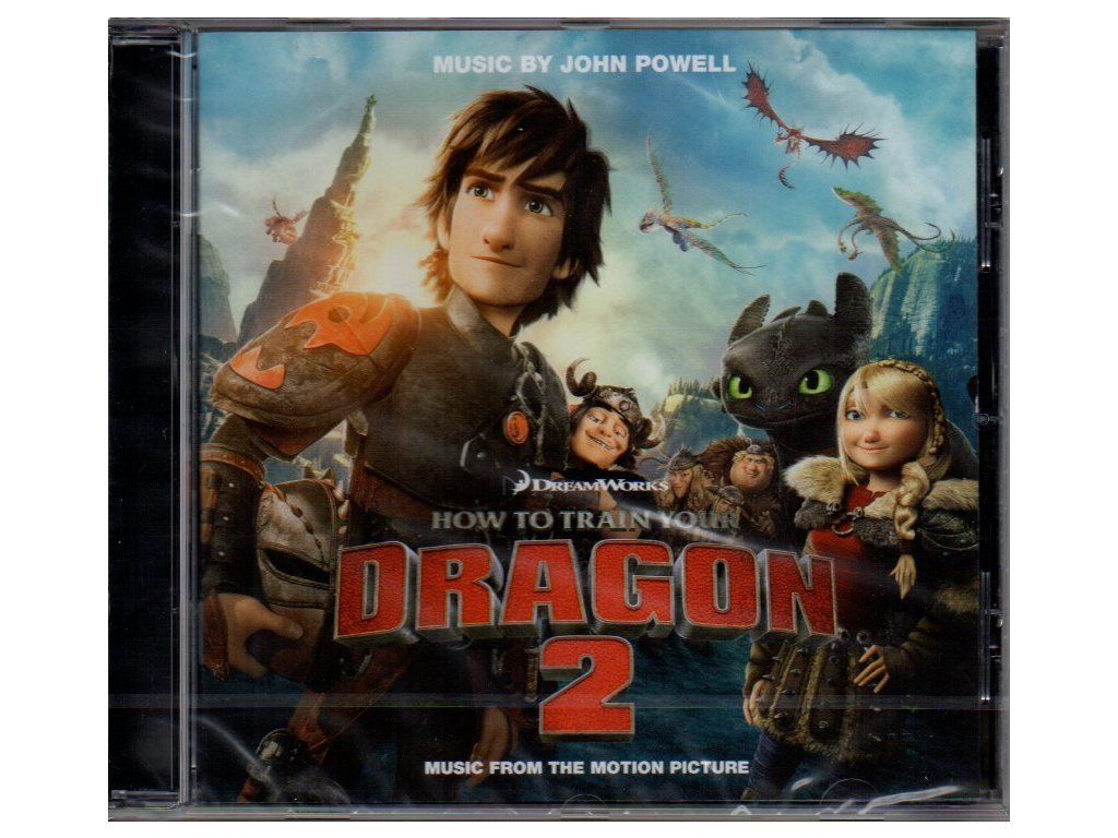 how to train your dragon 2 soundtrack cd john powell