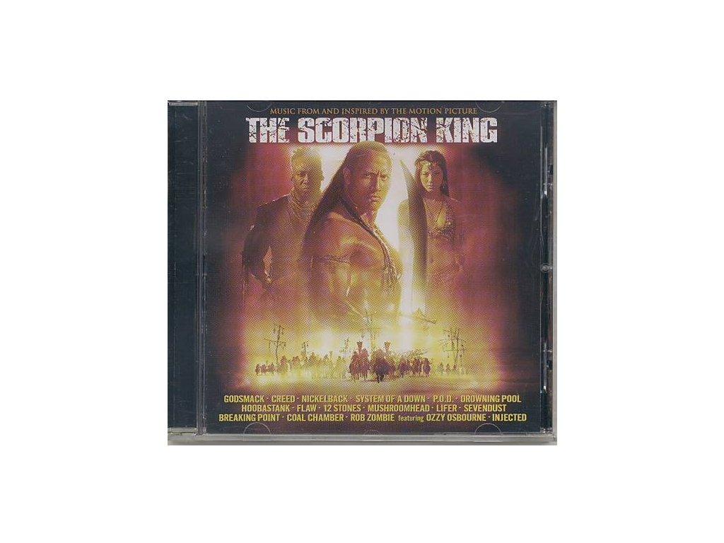 Král Škorpion (soundtrack - CD) The Scorpion King