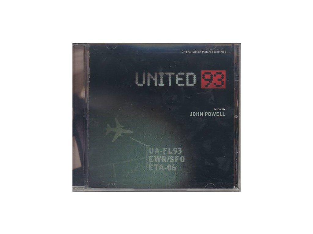 Let číslo 93 (soundtrack - CD) United 93