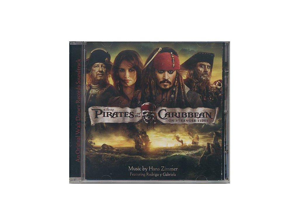 Piráti z Karibiku: Na vlnách podivna (soundtrack - CD) Pirates of the Caribbean: On Stranger Tides