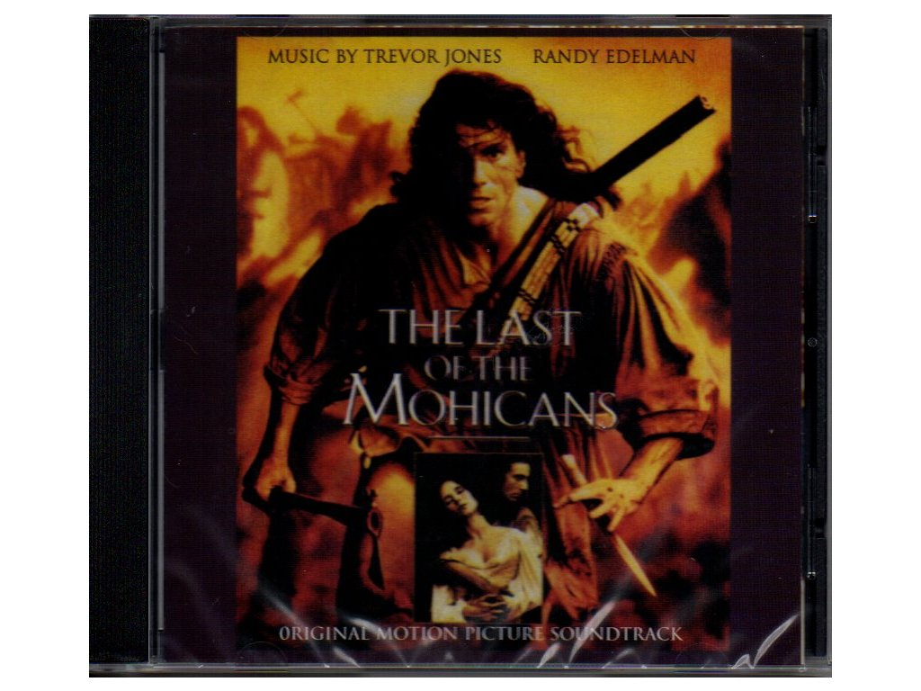 last of the mohicans soundtrack cd trevor jones randy edelman