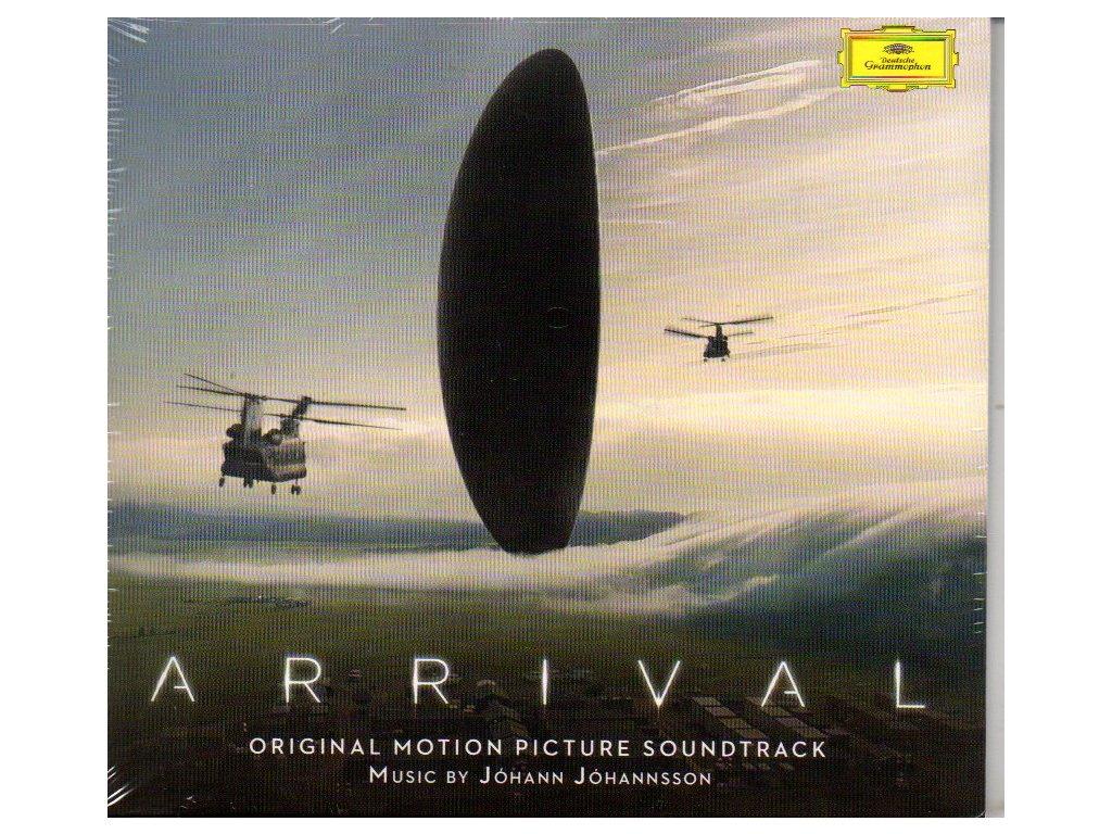 arrival soundtrack cd johann johannsson