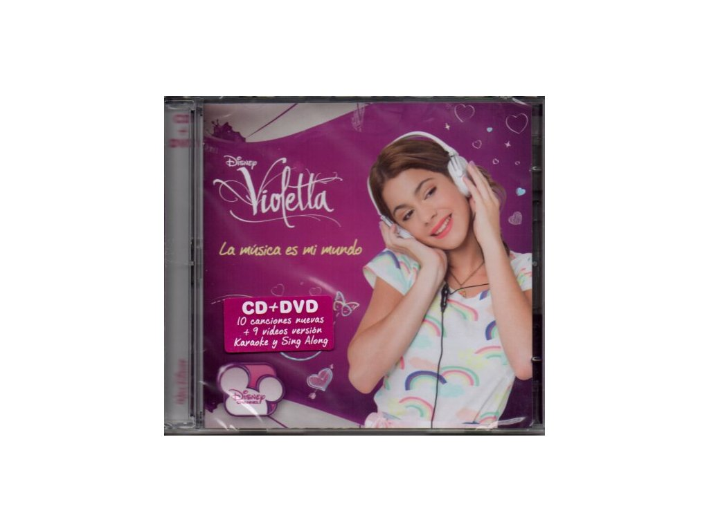 Violetta (soundtrack) Karaoke CD + DVD