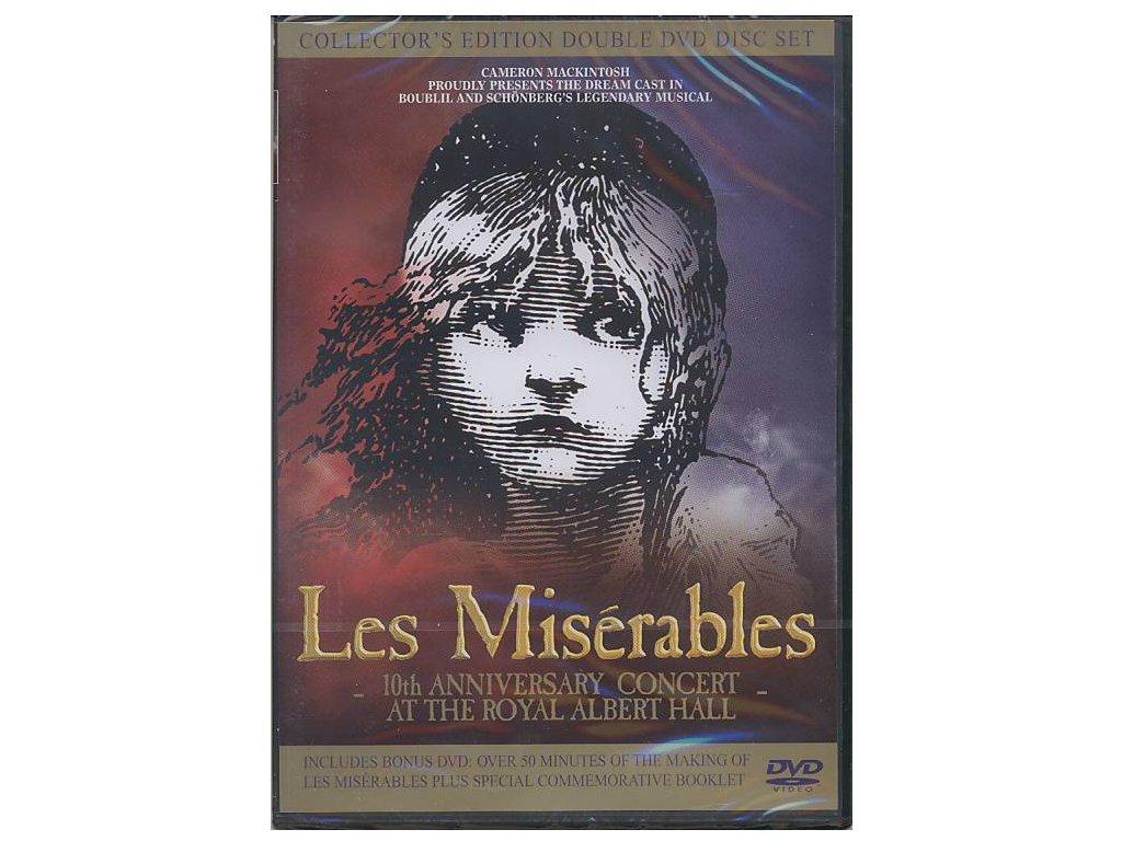 Bídníci - Les Miserables: 10th Anniversary Concert at the Royal Albert Hall (2 DVD)