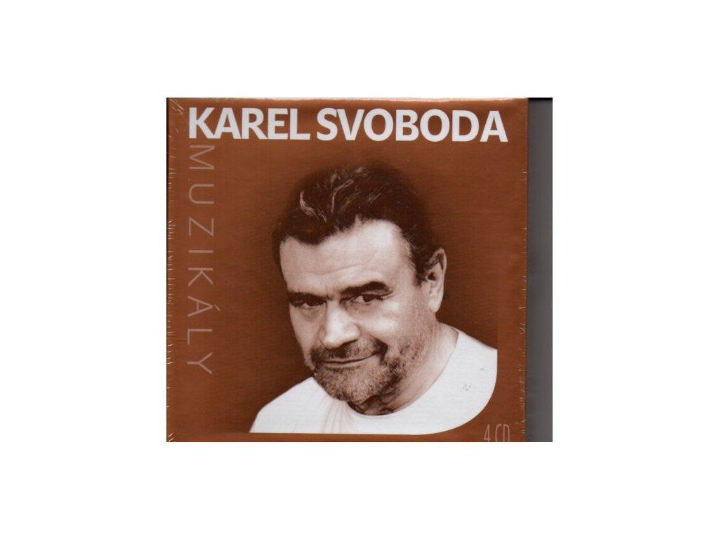 Karel Svoboda Muzikály (4 CD)