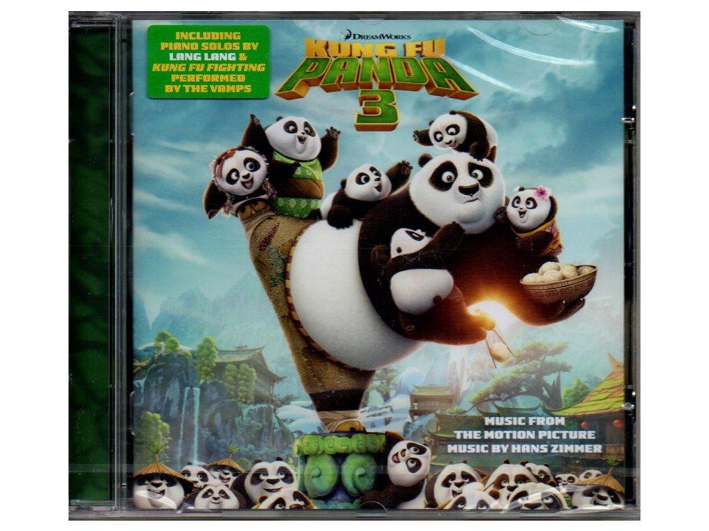 kung fu panda 3 soundtrack cd hans zimmer