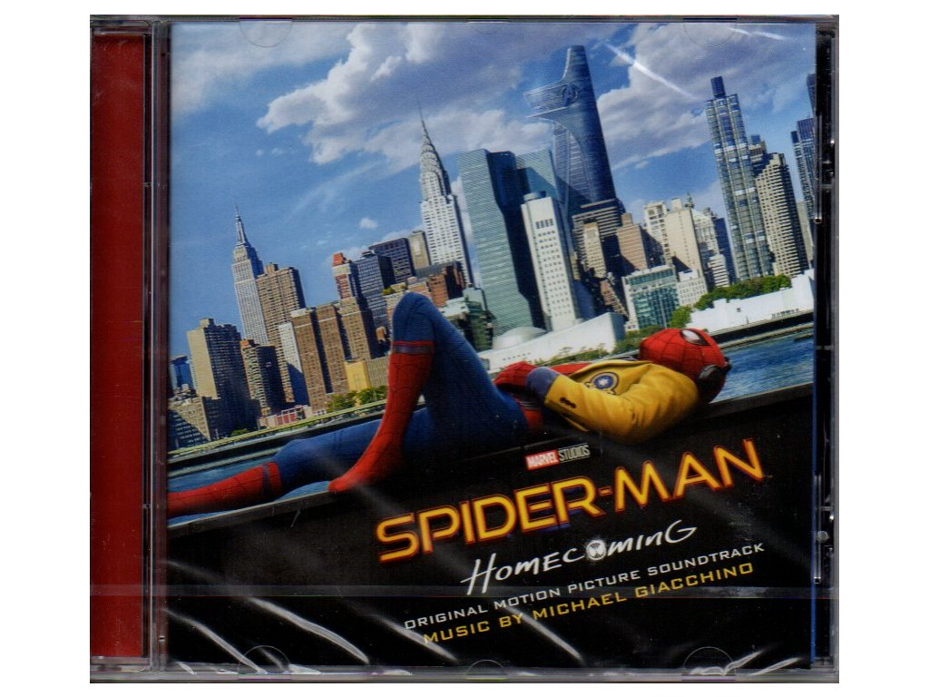 spider man homecoming soundtrack cd michael giacchino