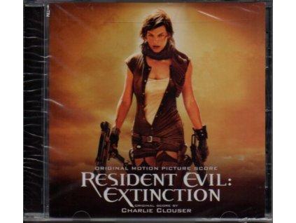 Resident Evil: Zánik (score - CD) Resident Evil: Extinction